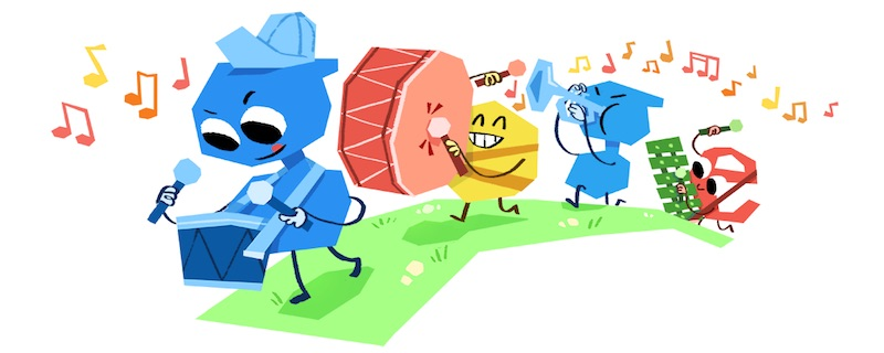Google 2018年こどもの日ロゴに!