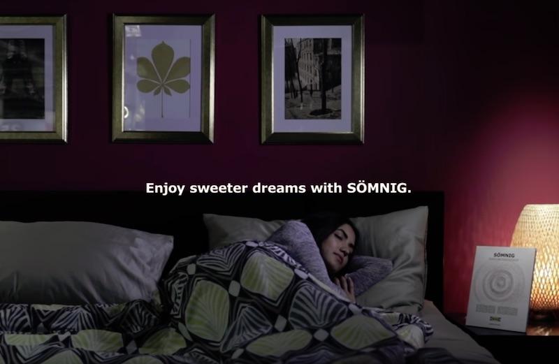 The sleepiest print ad ever made - #IKEASÖMNIG