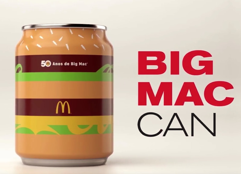 McDonald's | Big Mac Can