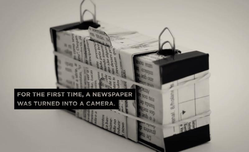THE NEWSPAPER CAMERA
