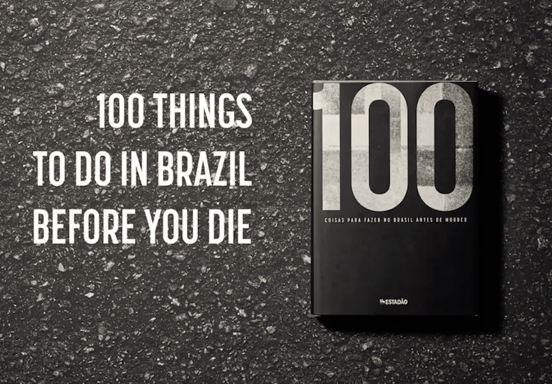 Estadão - 100 Things to do in Brazil Before You Die