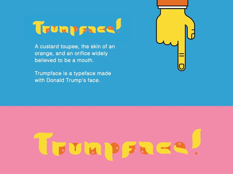 Trumpface Typeface