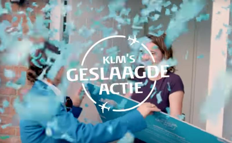 KLM's Geslaagde Actie 2018