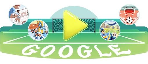 Google 2018年ワールドカップ - 16 日目ロゴに!
