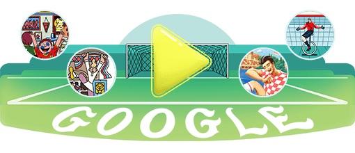 Google 2018年ワールドカップ - 17 日目ロゴに!