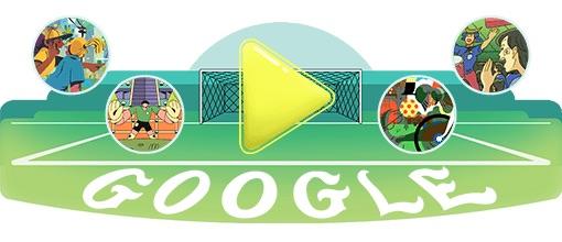 Google 2018年ワールドカップ - 18 日目ロゴに!