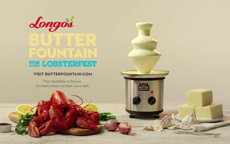 Longo's Butter Fountain