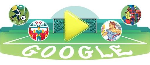 Google 2018年ワールドカップ - 19 日目ロゴに!