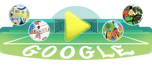 Google 2018年ワールドカップ - 20 日目ロゴに!