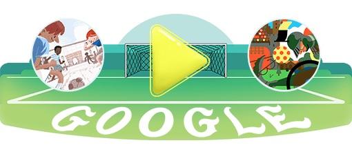 Google 2018年ワールドカップ - 22 日目ロゴに!