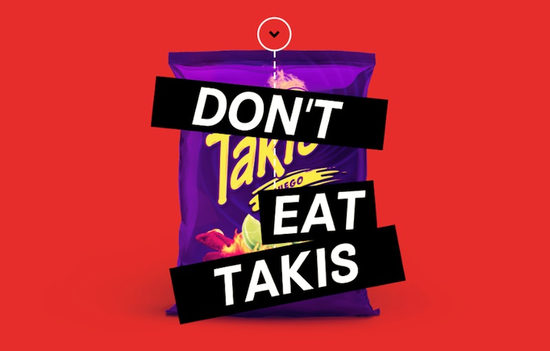 Don't eat Takis