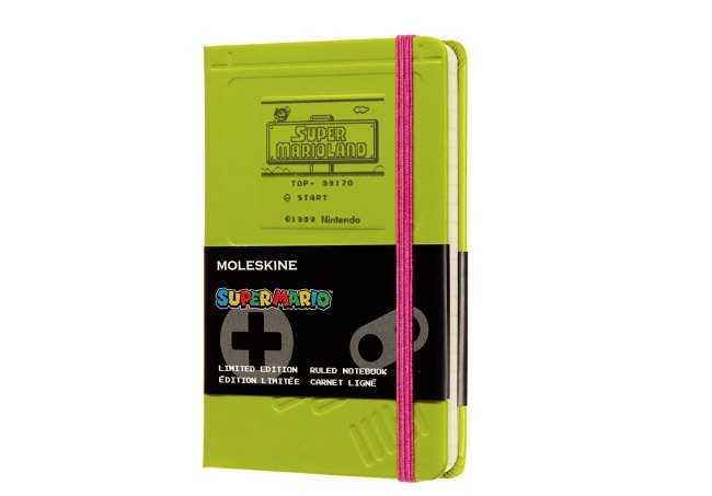 MOLESKINE SUPER MARIO LIMITED EDITION