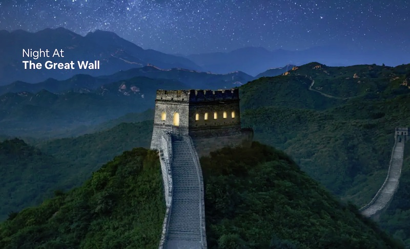 Night AtThe Great Wall