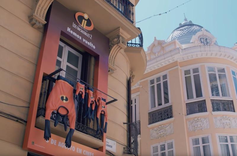 Los Increíbles 2 de Disney•Pixar | ¡Así vuelven a Málaga!