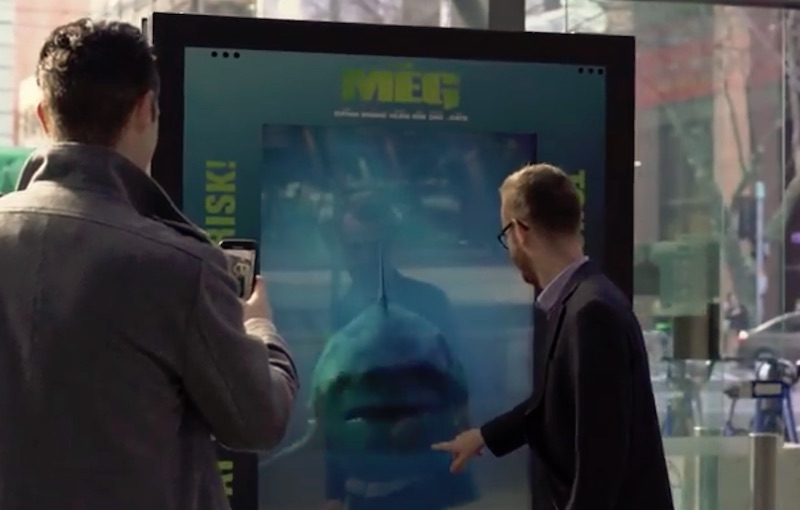 The Meg Mega shark attack at Southern Cross Station