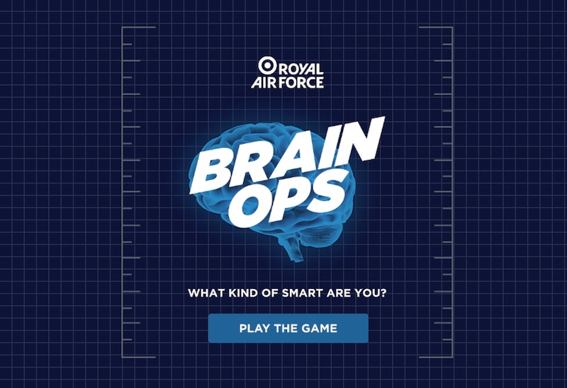 BRAIN OPS - RAF Recruitment | AirOperations
