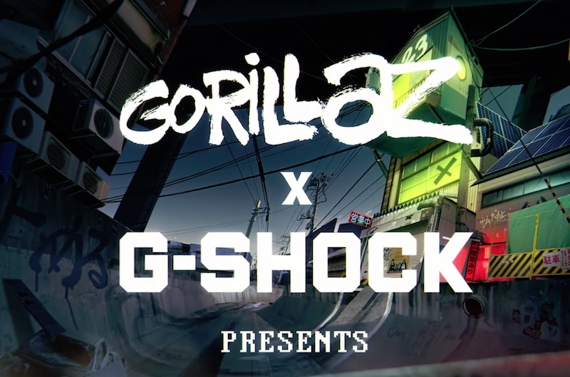 Gorillaz x G-Shock - Mission M101