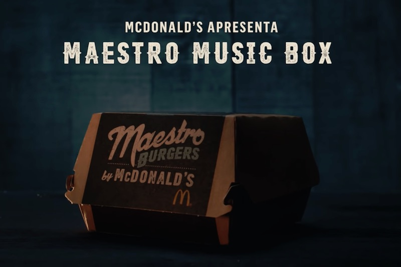 McDonald's Maestro Music Box