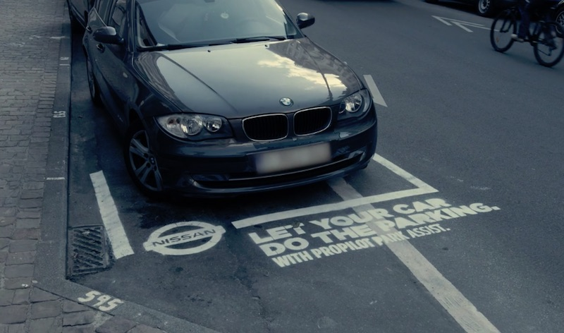 Nissan Benelux - Dumb parking ads