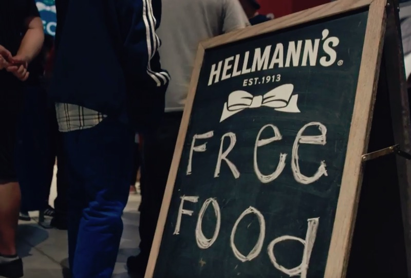 Hellmann's® Feeds a Stadium Food Waste – Real Food Rescue