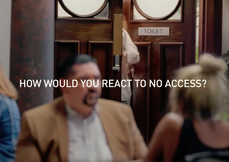 Toilet access denied, how would you react? Harpic & Water.org find out…