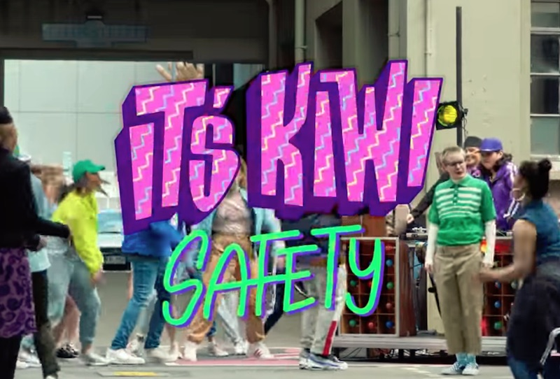 It's Kiwi Safety #AirNZSafetyVideo