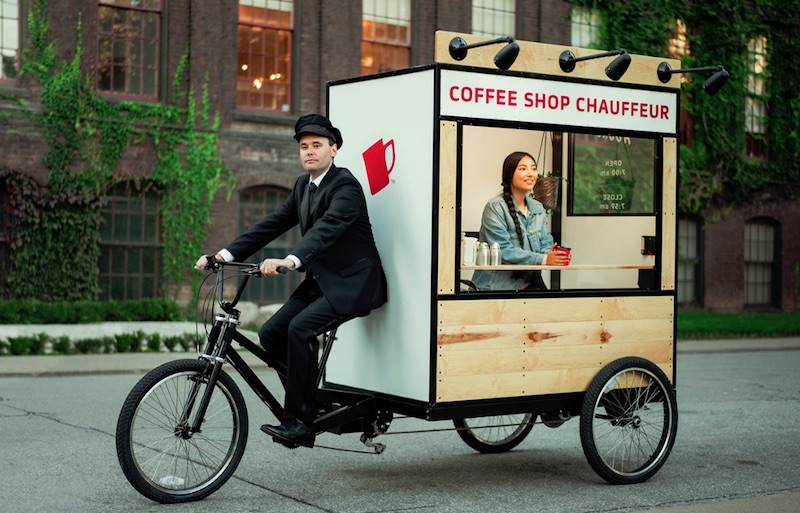NESCAFÉ SWEET & CREAMY – Coffee Shop Chauffeur