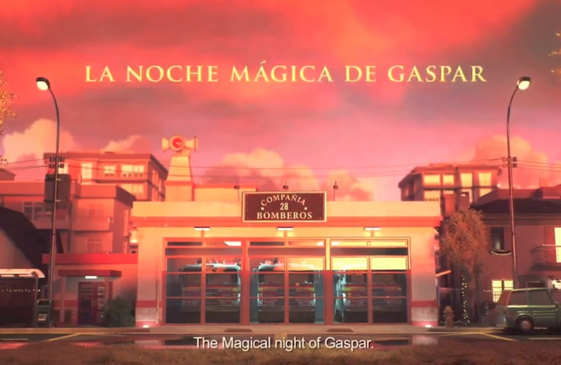 The magical night of Gaspar