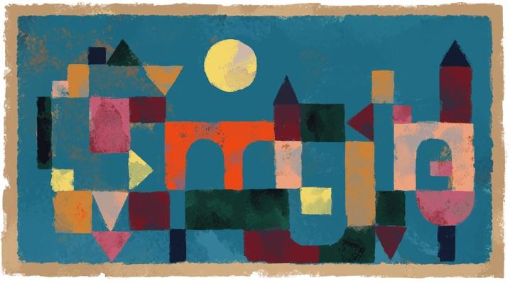 Google パウル・クレー生誕139周年記念ロゴに!