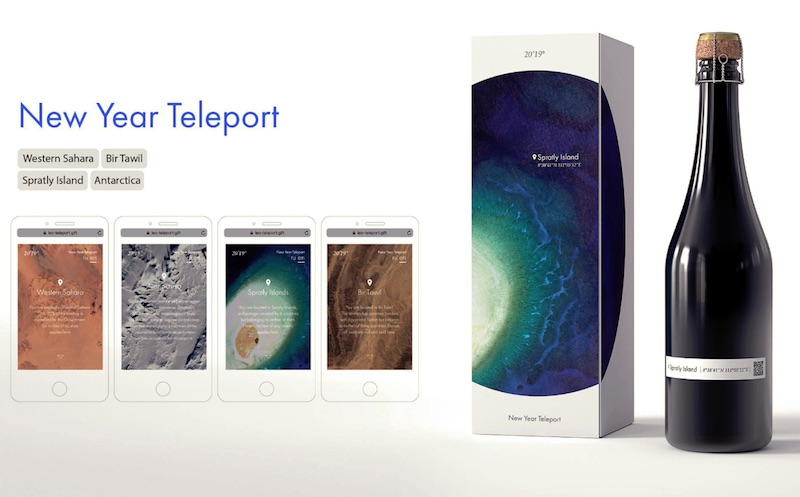 LEO BURNETT MOSCOW New Year teleport