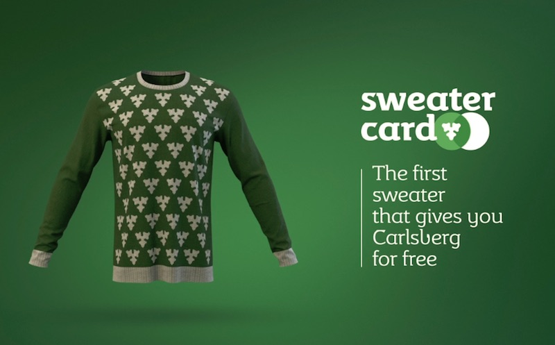 Sweater Card Carlsberg