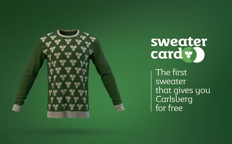 Sweater Card Carlsberg