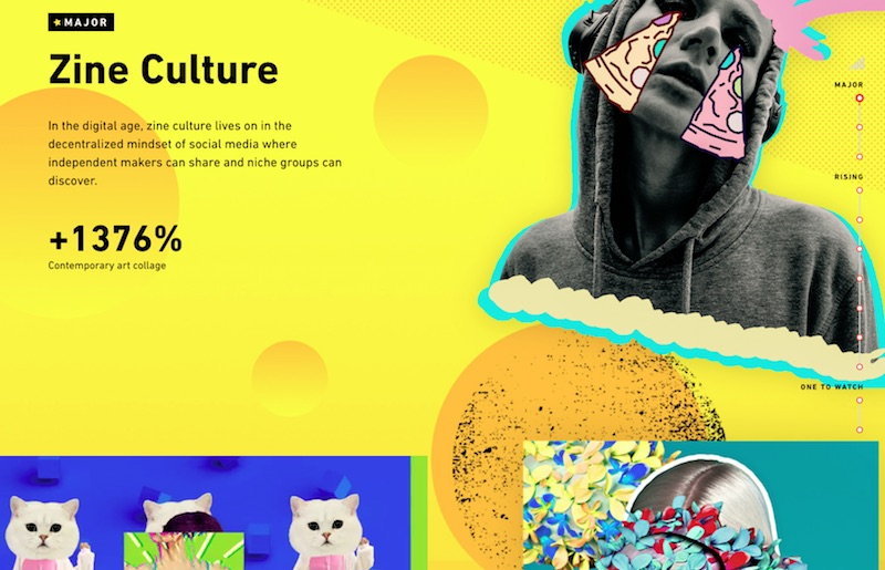 2019 Creative Trends Infographic - Shutterstock