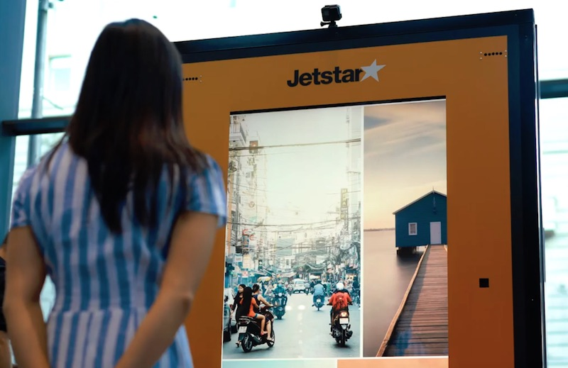 Jetstar uses eye tracking technology