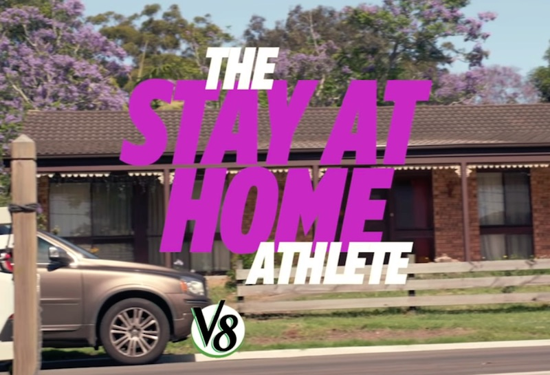 V8 Stay at Home Athlete