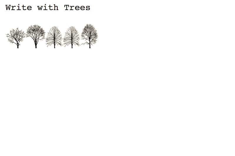 New York City Tree Alphabet
