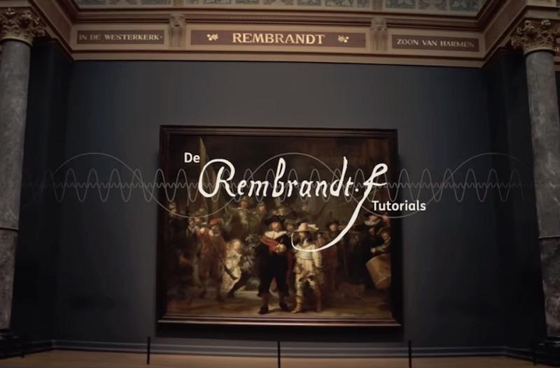 De Rembrandt Tutorials