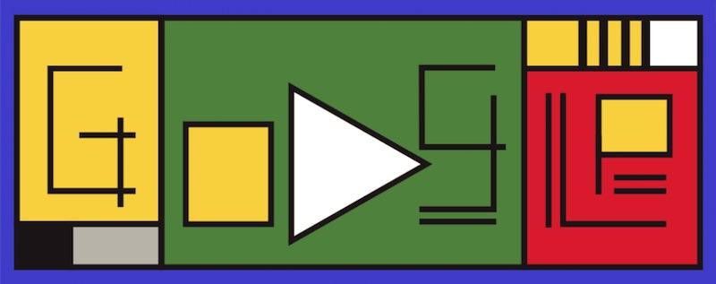 Google バウハウス設立100周年記念ロゴに!