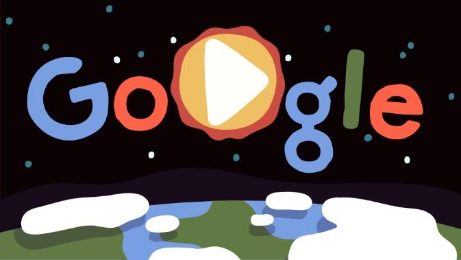 Google 2019年アースデーで、地球の不思議な生き物を紹介するロゴに!