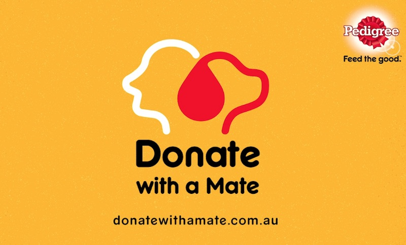Pedigree donate with a mate