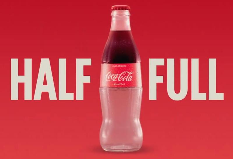 COCA-COLA HALF FULL
