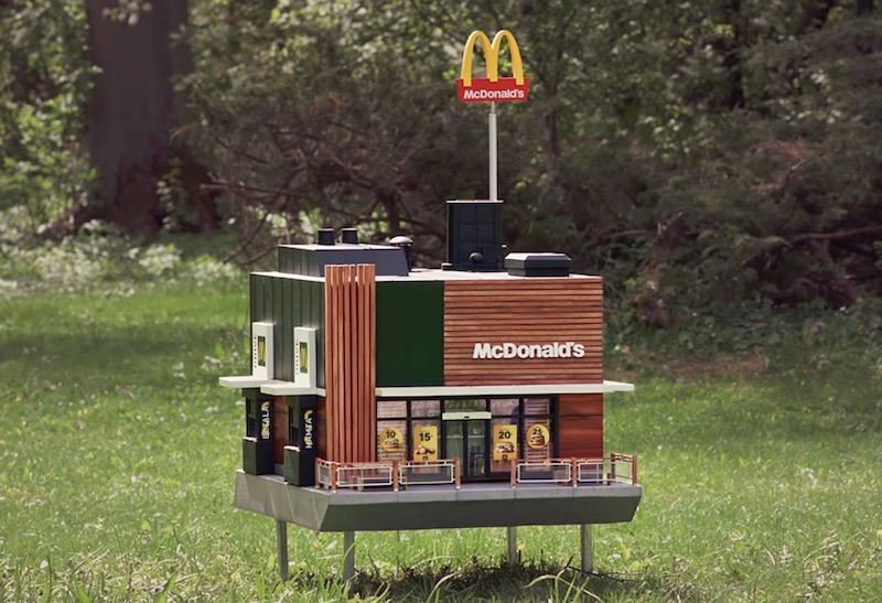 McHive – the world's smallest McDonald's