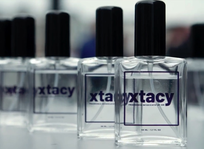 Public Prosecutor Lars Stempher on the launch of XTACY perfume