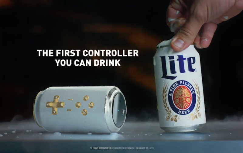 The Cantroller™ from Miller Lite