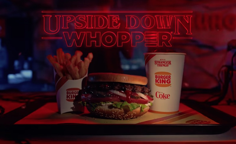 Burger King | Upside Down Whopper