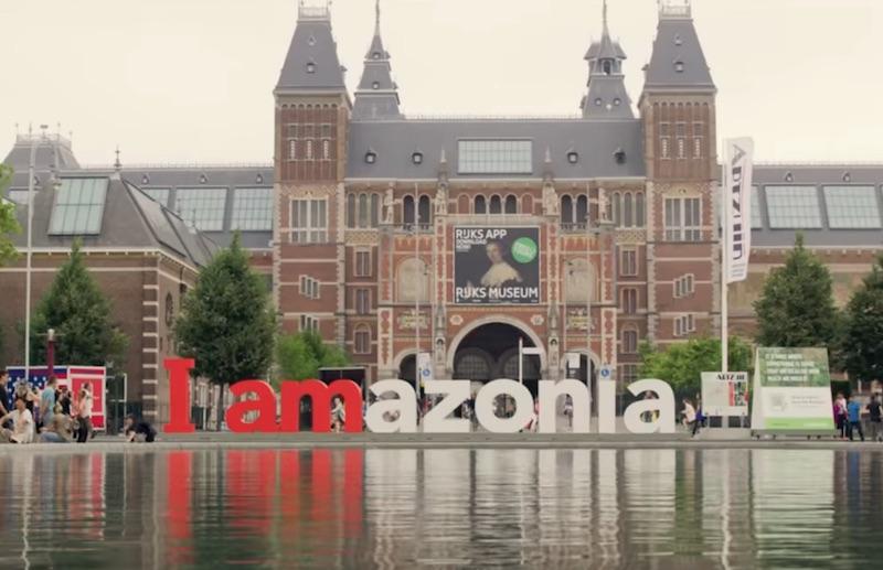 iAmsterdam becomes iAmazonia - Greenpeace