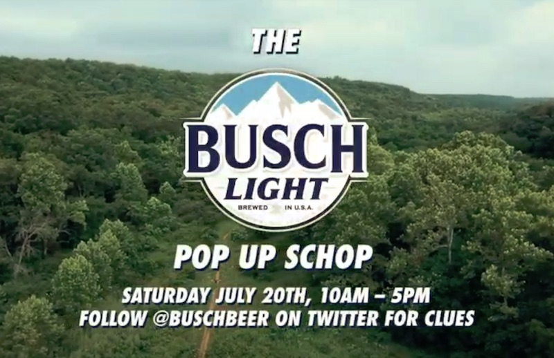 THE BUSCH POP-UP SCHOP