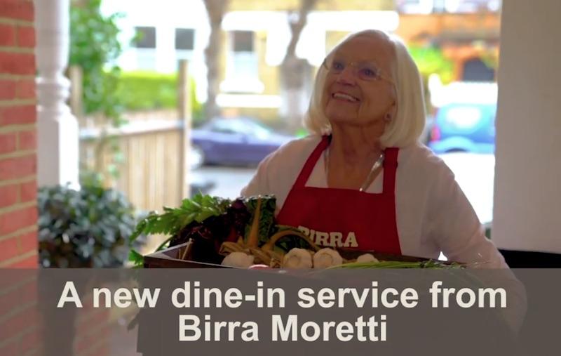 Birra Moretti launches Deliver-A-Nonna service