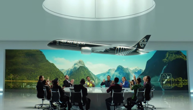 Air All Blacks #AirNZSafetyVideo