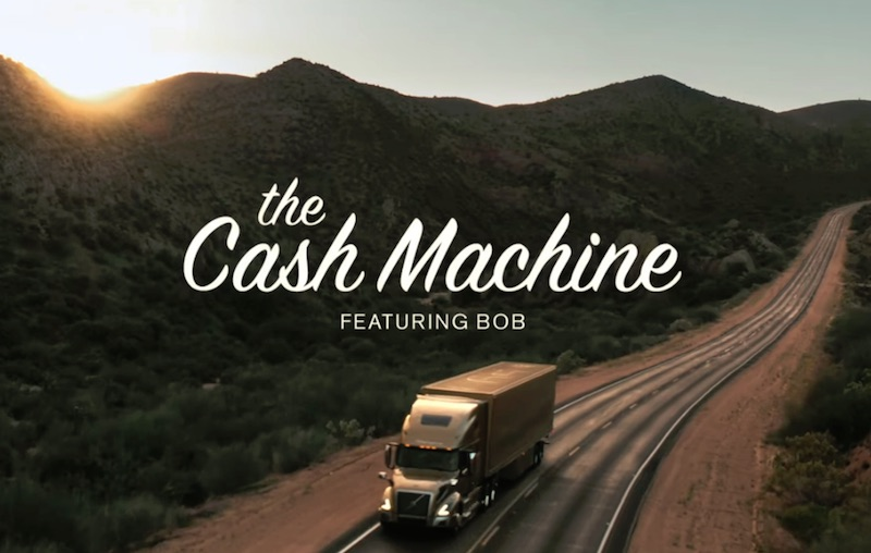 Volvo Trucks — The Cash Machine featuring Bob